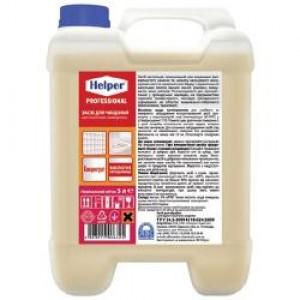 Чистящее средство для унитазов с антибактериальным эффектом ТМ HELPER отличный аналог Domestos- гель.