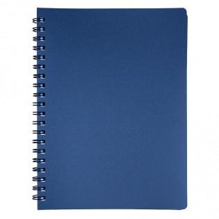 Купить Блокнот  А4 80л # пласт. обложка, боковая спираль, графит STATUS, BM.24452153-50 по низким ценам