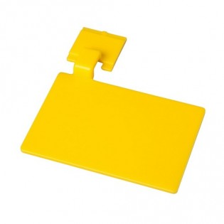 Купить Маркировочный значек для алюмин. рейки, цвет желтый ХАССП по низким ценам