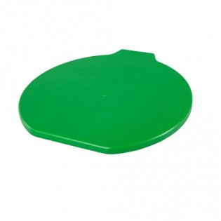 Купить Крышка пластик. для пищевого ведра (9л) зелёная ХАССП по низким ценам