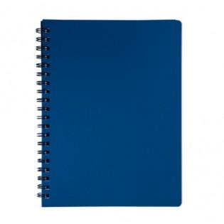 Купить Блокнот  А4 80л # пласт. обложка, боковая спираль, маренго STATUS, BM.24452153-53 по низким ценам