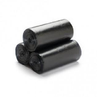 Купить Пакет для мусора 35л/100шт (49*55) 6мкн черный   по низким ценам