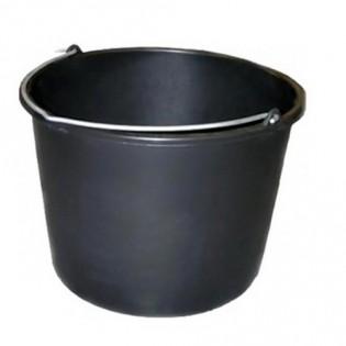 Купить Ведро хозяйственное (14л) пластик. круглое, без крышки с металл. ручкой, с носиком MIX  по низким ценам