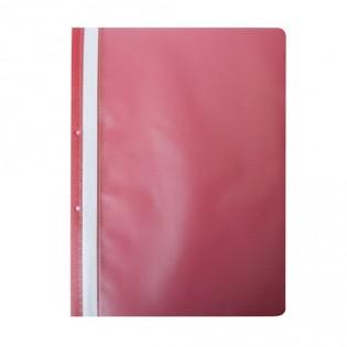 Купить Скоросшиватель А4 пластик.  с  перфорацией красный BM.3314-05 по низким ценам