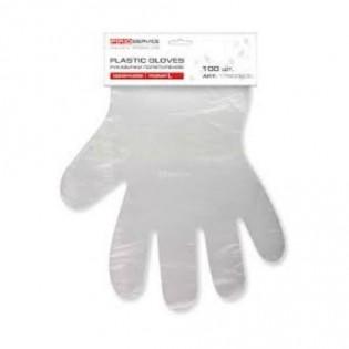 Купить Перчатки полиэтиленовые CPE без покрытия 1 уп (200 шт)  р L без НДС по низким ценам