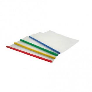 Купить Скоросшиватель А4/10мм пластик. с планкой MIX 1417-00-А по низким ценам