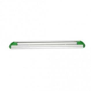 Купить Настенная планка держатель инвентаря,алюминиевая, 300мм, цвет зеленый ХАССП по низким ценам
