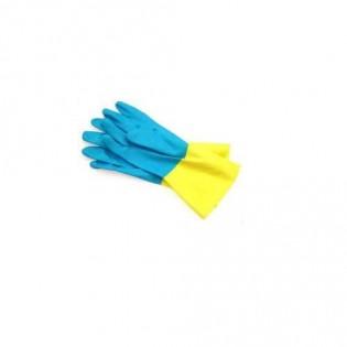 Купить Рукавицы защитные химические RBI-VEX желто-голубые р.8  по низким ценам