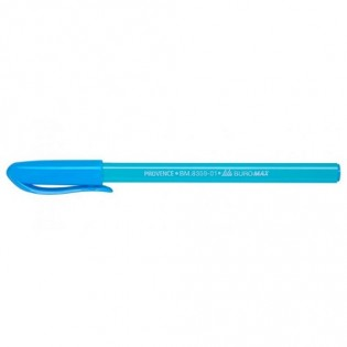 Купить Ручка масляная (0,5) синяя (Tri-Mate) MIX BM.8359-01 по низким ценам