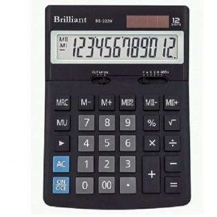 Купить Калькулятор 12 разр. бухгалтерский BS222N (123 х171x31) по низким ценам