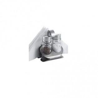 Купить Набор для специй солянка + перечница, 4эл. на мет.ст., 20762  по низким ценам