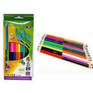 Купить Карандаши цветные  6/12цв. ZB.2462 по низким ценам
