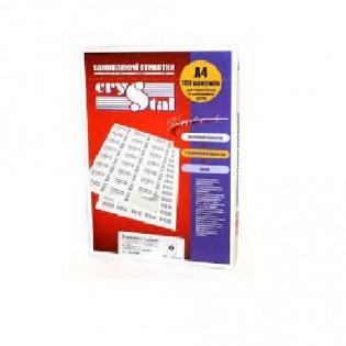 Купить Этикетка самоклеющаяся А4,  8-ячеек (105х74мм/100л) CRYSTAL по низким ценам
