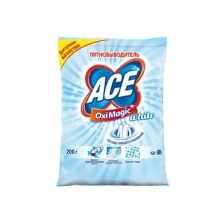 Купить Пятновыводитель (200 гр) ACE Oxi Magic White Ace по низким ценам