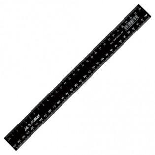 Купить Линейка пластик. 30см черная BM.5830-30 по низким ценам
