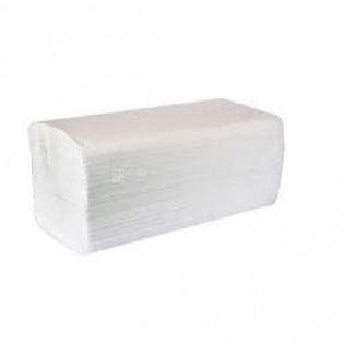 Купить Полотенца бумажные макулатурные отбеленное V сложен.(230*250мм/150шт) 2-х слойн. Deluxe по низким ценам