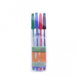 Купить Набор ручек шариковых (4 цвета) ZB.2010 по низким ценам