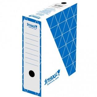 Купить Бокс архив. картон. А4/100 белый с синим Ax1732-02-А по низким ценам