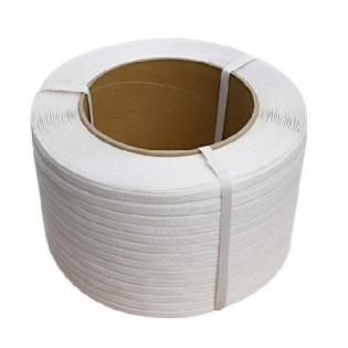 Купить Лента полипропиленовая  белая (19090) 19мм х1200м/п х 0,9мм по низким ценам