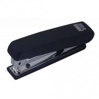 Купить Степлер №10 (12л) пласт. черный Rubber Touch ВM.4128-01 по низким ценам