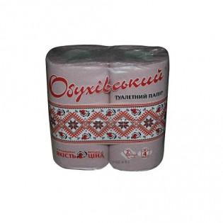 Купить Туалетная бумага макулатурная на гильзе серая (4шт) по низким ценам