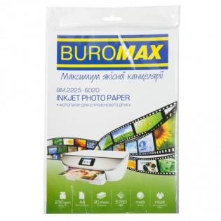 Купить Фотобумага А4 230гр/м2 (20листов) матовая  BM.2225-6020 по низким ценам