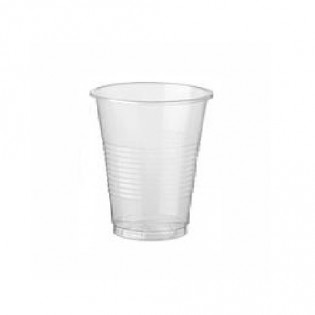 Купить Стакан (200мл *50шт) пластиковий прозрачный для горячих и холодных напитков Україна по низким ценам
