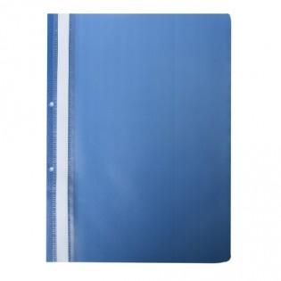 Купить Скоросшиватель А4 пластик.  с  перфорацией синий BM.3314-02 по низким ценам