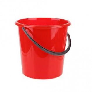 Купить Ведро пищевое (10л) пластик. круглое, без крышки с пласт. ручкой, MIX/122010/1 по низким ценам