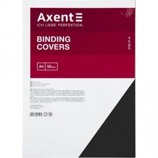 Купить Обложка для биндера А4, 230мкм (50шт/уп) картон, черная под кожу 2730-01-a по низким ценам