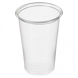 Купить Стакан (200мл *100шт) пластиковий прозрачный для горячих и холодных напитков Україна по низким ценам