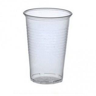 Купить Стакан (500мл*50шт) пластиковый  прозрачный для горячих и холодных напитков  по низким ценам