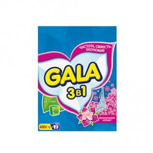 Купить Стиральный порошок (400 гр) автомат для цветного Gala по низким ценам