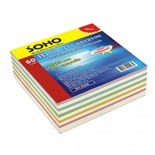 Купить Бумага для заметок, микс,  не  клееная (85х85/400л) FR-2211 по низким ценам