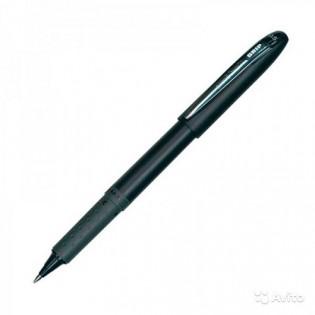 Купить Ручка роллер (0.5) черная с гриппом GRIP micro UB-245.Black по низким ценам