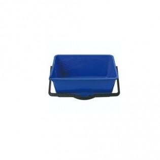 Купить Ведро хозяйственное (14л) пластик. прямоугольное, без крышки с пласт. ручкой MIX/122024 по низким ценам