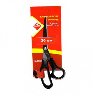 Купить Ножницы 20см пластик. ручками  KL2200 по низким ценам