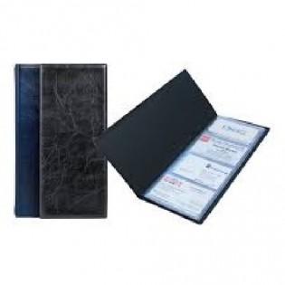 Купить Визитница А5/1 (80 визиток) винил черная Xepter 2502-01 по низким ценам