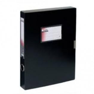Купить Папка-бокс А4/36 пластик. на липучке, черная 1736-01-А по низким ценам