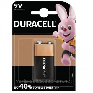 Купить Батарейка 6LR61 Duracell щелочная крона 9v,1.5V по низким ценам
