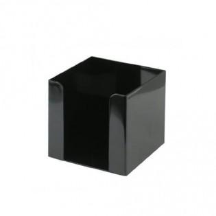 Купить Бокс для бумаги (90х90х90), пластик. черный D4005-01 по низким ценам