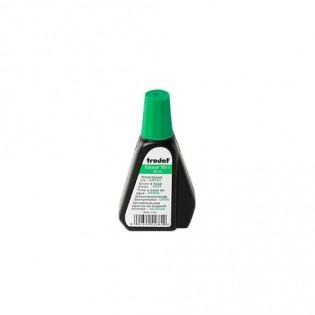 Купить Краска штемпельная (28мл) зеленая TR7011  по низким ценам