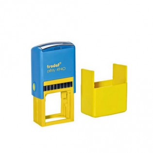 Купить Оснастка для квадр.печати (40х40мм) желто-голубая TR4940 по низким ценам