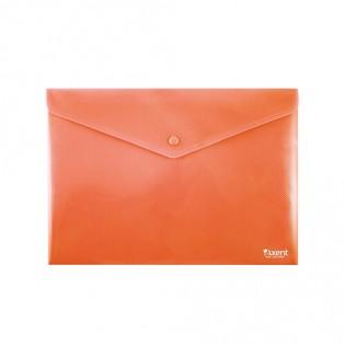 Купить Папка-конверт пласт. А4 на кноп. непрозр. красная 1412-24-A. по низким ценам