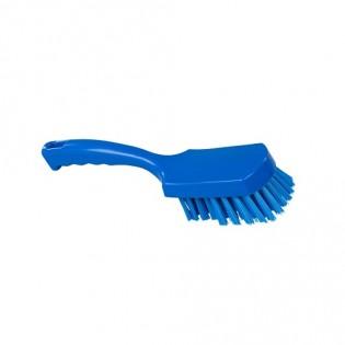 Купить Щетка с ручкой, полиэстер, 275*70, высота ворса 35мм, цвет синий, FBK ХАССП по низким ценам