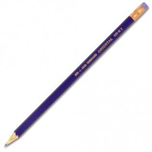 Купить Карандаш графит. НВ с ластиком Oriental, 1372/НB по низким ценам