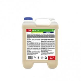 Купить Моющее средство LIV Актив 213, концентрат слабощелочное пенное, 10л по низким ценам
