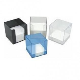 Купить Бокс для бумаги (90х90х90), пластик. MIX  по низким ценам