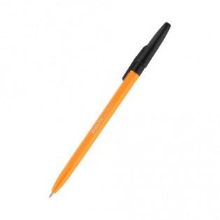 Купить Ручка шариковая (1,0) черная, корпус оранжевый DB 2050-01 по низким ценам