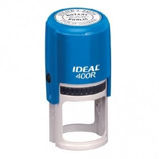 Купить Оснастка для круглой печати (40мм) синяя Ideal 400R по низким ценам